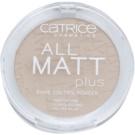 Catrice All Matt Plus pudra matuire culoare 015 Natural Beige 10 g