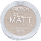 Catrice All Matt Plus pudra matuire culoare 015 Natural Beige 10 g