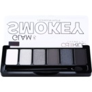 Catrice Glam & Smokey Palette mit Lidschatten für rauchiges Make-up Farbton 010 Never Grey Up 6 g