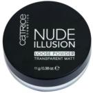 Catrice Nude Illusion mattierendes transparentes Puder Farbton (Transparent Matt) 11 g
