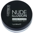 Catrice Nude Illusion matující transparentní pudr odstín (Transparent Matt) 11 g