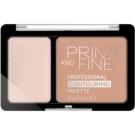 Catrice Prime And Fine paleta para contorno de rosto tom 030 Sunny Sympathy 10 g