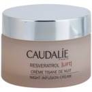 Caudalie Resveratrol [Lift] Regenerating Night Cream With Smoothing Effect (Smoothes, Regenerates with Hyaluronic Acid, Ceramides & Resveratrol 500) 50 ml