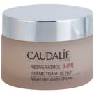 Caudalie Resveratrol Lift crema regeneratoare de noapte cu efect de netezire (Smoothes, Regenerates with Hyaluronic Acid, Ceramides & Resveratrol 500) 50 ml