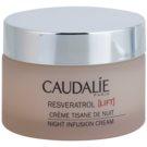 Caudalie Resveratrol [Lift] regenerierende Nachtcreme mit glättender Wirkung  50 ml