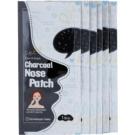 Cettua Charcoal Nose Pore Strips Against Blackheads   6 pc