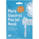 Cettua Clean & Simple Cloth Facial Mask For Pore Minimizer And Matte  Looking Skin (Paraben, Fragrance&Pigment Free)