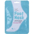 Cettua Clean & Simple Exfoliating and Moisturising Foot Mask for Softer Feet (Paraben, Fragrance&Pigment Free)