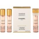 Chanel Coco Mademoiselle парфюмна вода за жени 3x20 мл. (3 пъти пълнеж)