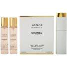 Chanel Coco Mademoiselle туалетна вода для жінок 3x20 мл (1x мінний флакон + 2x Наповнювач)