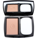 Chanel Mat Lumiere Compact озаряваща пудра цвят 130 Extreme (Luminous Matte Powder Makeup SPF10) 13 гр.
