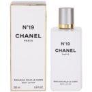Chanel No.19 telové mlieko pre ženy 200 ml