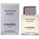 Chanel Egoiste Platinum Eau de Toilette para homens 100 ml