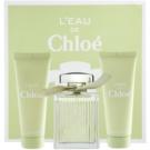 Chloé L'Eau de Chloé подарунковий набір I. Туалетна вода 100 ml + Молочко для тіла 75 ml + Гель для душу 75 ml