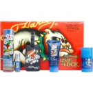 Christian Audigier Ed Hardy Love & Luck Man lote de regalo I.  eau de toilette 100 ml + eau de toilette 7,5 ml + gel de ducha 90 ml + deo barra 78 g