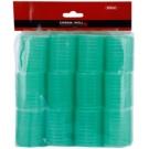 Chromwell Accessories Green rolos de caracóis estreitos para cabelo ( ø 48 x 63 mm )