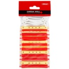 Chromwell Accessories Red/Yellow Perm Rollers (ø 9 x 91 mm) 9,1 cm