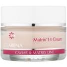 Clarena Caviar & Matrix Line Anti-Aging-Creme zur Aktivierung der Gene der Jugend 50 ml