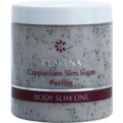 Clarena Body Slim Line Cappuccino Anti-Cellulite Sugar and Coffee Body Scrub for Better Microcirculation (Body3 Complex) 250 ml