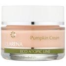 Clarena Eco Atopic Line Pumpkin зволожуючий відновлюючий крем для жирної шкіри  50 мл