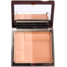 Clarins Face Make-Up Bronzing Duo pó bronzeador matificante tom 02 Medium (Mineral Powder Compact) 10 g