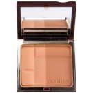 Clarins Face Make-Up Bronzing Duo pó bronzeador matificante tom 03 Dark (Mineral Powder Compact) 10 g
