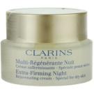 Clarins Extra-Firming creme de noite fortificante e antirrugas para pele seca  50 ml