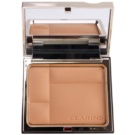 Clarins Face Make-Up Ever Matte Mineral Pressed Powder Fot a Matte Look Color 03 Transparent Warm (Shine Control Mineral Powder Compact) 10 g