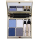 Clarins Eye Make-Up Ombre Minérale Long-Lasting Eyeshadow With Mirror And Applicator Color 04 Indigo (Eye Quartet Mineral Palette Long-Lasting) 5,8 g