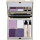 Clarins Eye Make-Up Ombre Minérale Long-Lasting Eyeshadow With Mirror And Applicator Color 05 Violet (Eye Quartet Mineral Palette Long-Lasting) 5,8 g