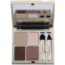 Clarins Eye Make-Up Ombre Minérale Long-Lasting Eyeshadow With Mirror And Applicator Color 13 Skin Tones (Eye Quartet Mineral Palette Long-Lasting) 5,8 g