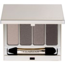Clarins Eye Make-Up 4 Colour Eyeshadow Palette szemhéjfesték paletták árnyalat 03 Brown 6,9 g