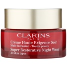 Clarins Super Restorative creme revitalizante de noite para todos os tipos de pele (Super Restorative Night Wear) 50 ml