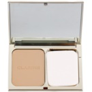 Clarins Face Make-Up Everlasting maquillaje compacto de larga duración  SPF 15 tono 110 Honey (Everlasting Compact Foundation) 10 g