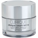 Clinique Clinique Smart crema de día hidratante antiarrugas para pieles grasas SPF 15 30 ml