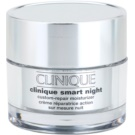 Clinique Clinique Smart creme hidratante de noite antirrugas para pele seca e mista 30 ml