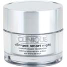 Clinique Clinique Smart hidratáló éjszakai krém a ráncok ellen száraz és kombinált bőrre  30 ml