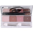 Clinique All About Shadow Quad fard ochi culoare 06 Pink Chokolate (Eye Shadow Quad) 4,8 g