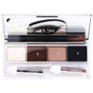 Clinique All About Shadow Quad Eye Shadow Color 02 Jenna´s Essential (Eye Shadow Quad) 4,8 g