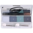 Clinique All About Shadow Quad oční stíny odstín 11 Galaxy (Eye Shadow Quad) 4,8 g