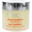 Clinique Hair and Body Care manteiga corporal  para pele muito seca (Deep Comfort Body Butter) 200 ml