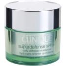 Clinique Superdefense™ nappali hidratáló és ápoló krém kombinált és zsíros bőrre SPF 20  50 ml