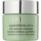 Clinique Superdefense™ Moisturizing And Protecting Day Cream For Mixed And Oily Skin SPF 20  75 ml