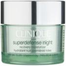 Clinique Superdefense nočna vlažilna krema proti prvim znakom staranja kože  50 ml