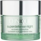 Clinique Superdefense Crema de noapte hidratanta anti-rid pentru ten mixt si gras 50 ml
