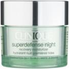 Clinique Superdefense hidratáló éjszakai krém a ráncok ellen kombinált és zsíros bőrre  50 ml
