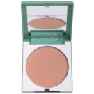 Clinique Stay Matte puder, ki absorbira maščobo za mastno kožo odtenek 03 Stay Beige (Sheer Pressed Powder) 7,6 g