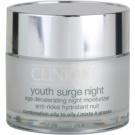Clinique Youth Surge noční hydratační krém pro smíšenou a mastnou pleť  50 ml