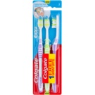 Colgate Extra Clean Zahnbürste Medium 3 pc Violet & Green & Violet (Reaches Back Teeth)