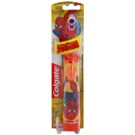 Colgate Kids Spiderman Children's Battery Toothbrush Extra Soft Orange